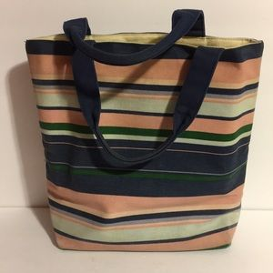 ❤️Victoria's Secret Multicolored Canvas Tote